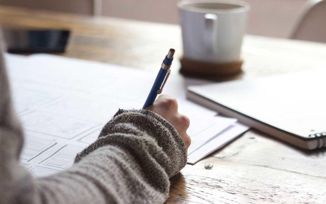 Schreiben oder Leben?