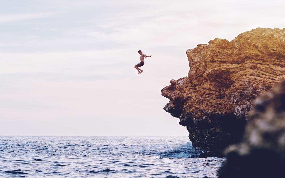 Springen will gelernt sein!